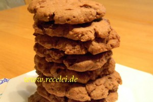 Kakaolu Kurabiye (Chocolate Cookies)